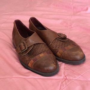 Vintage Euro Club Pointed Shoes // 6B